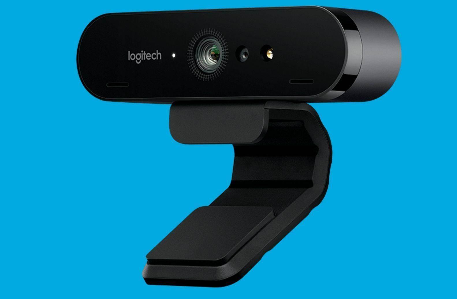 Logitech a commercialisé une webcam … 4k!!!