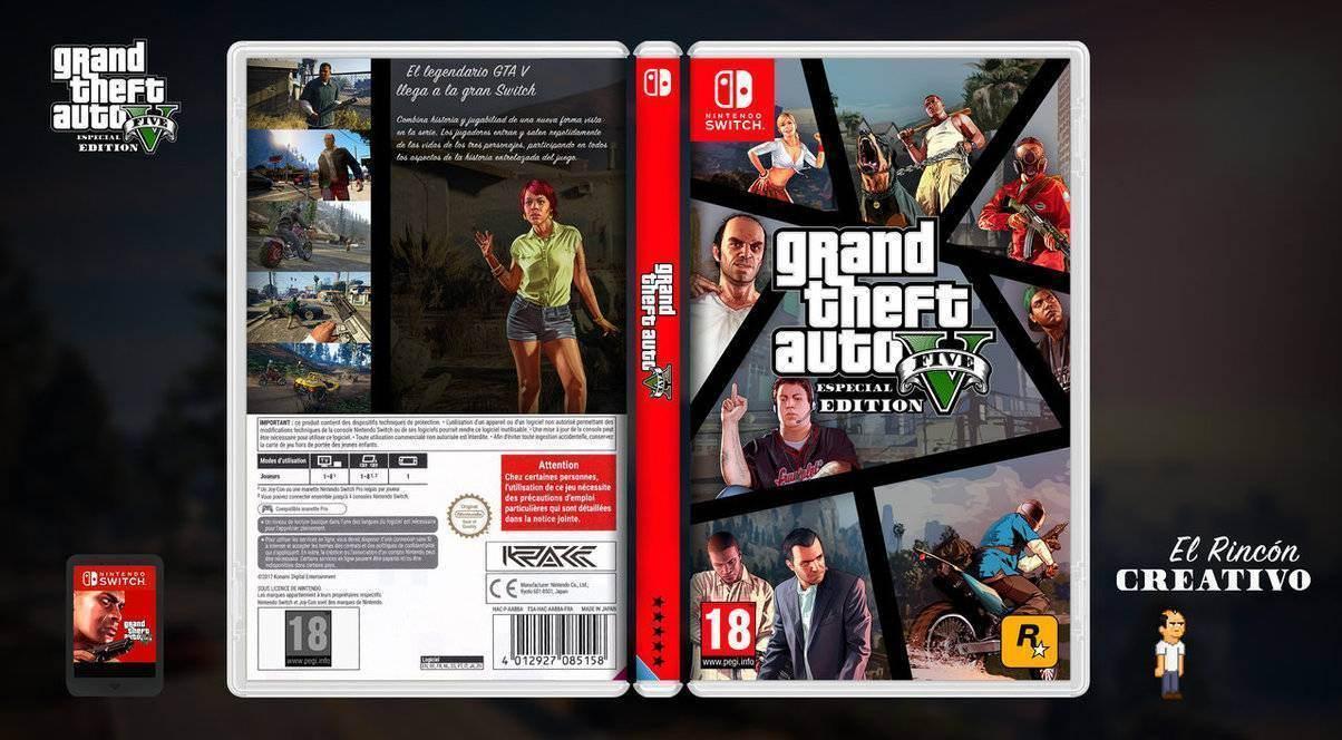Nintendo Switch Gta 5 Pourrait Voir Le Jour Conciergerie Du Geek