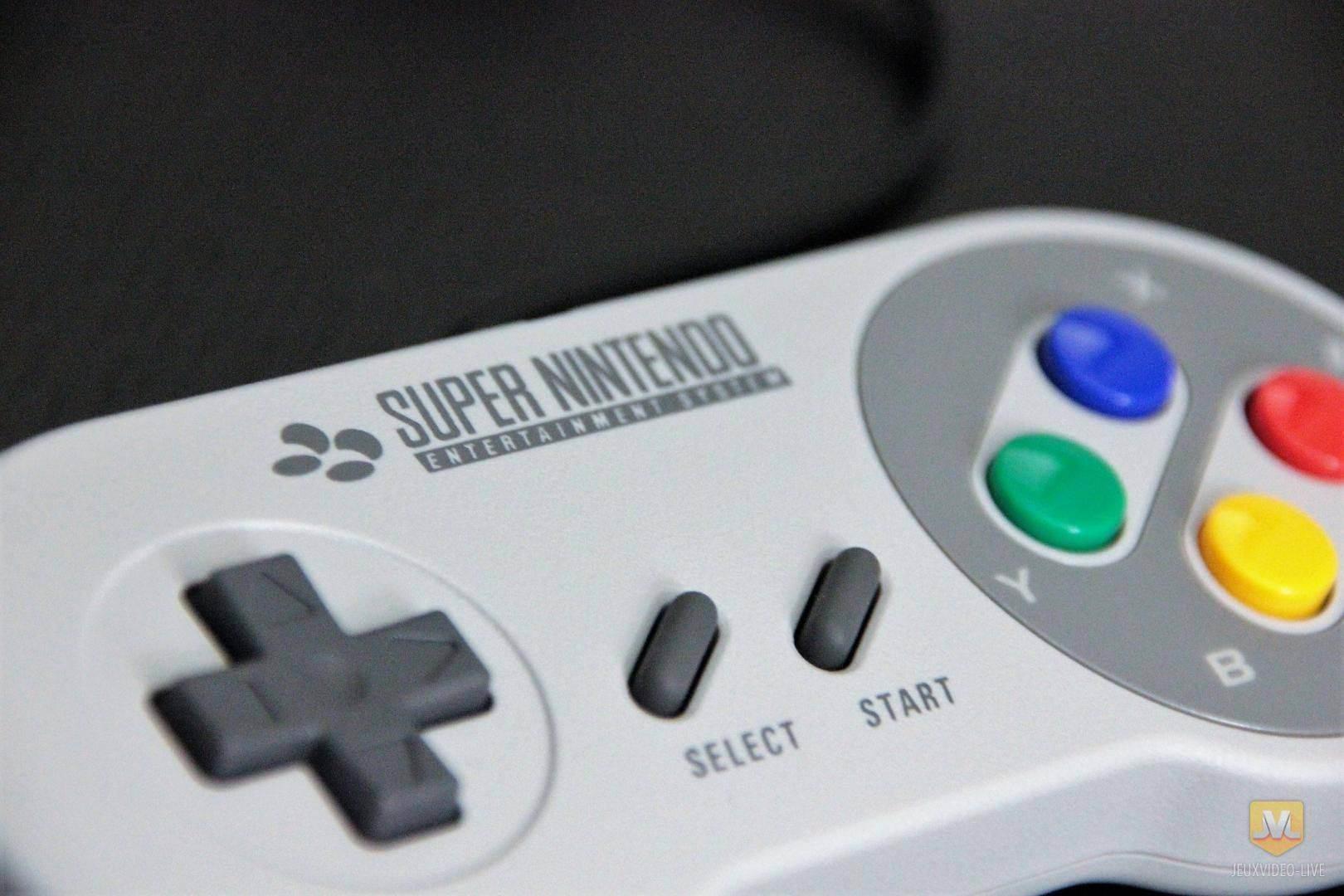 """Les nouvelles manettes """"Super Nintendo"""" arrivent !"""