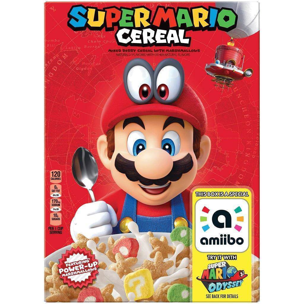 L'Odyssey de Mario chez Kellogg's