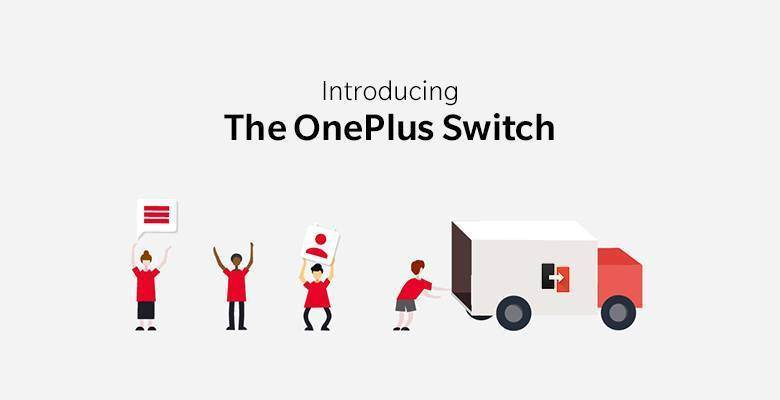 OnePlus Switch : application de transfert maison !