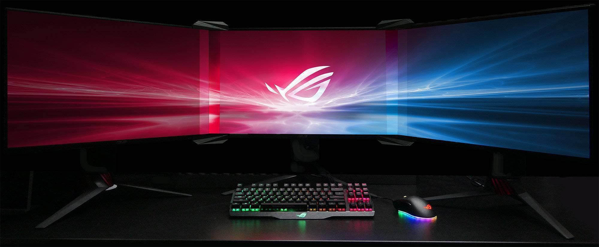 Asus Bezel-free Kit : Fussionez vos 3 écrans !