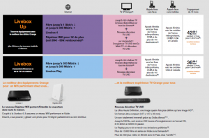 Orange : Nouvelles offres Livebox et Livebox Up