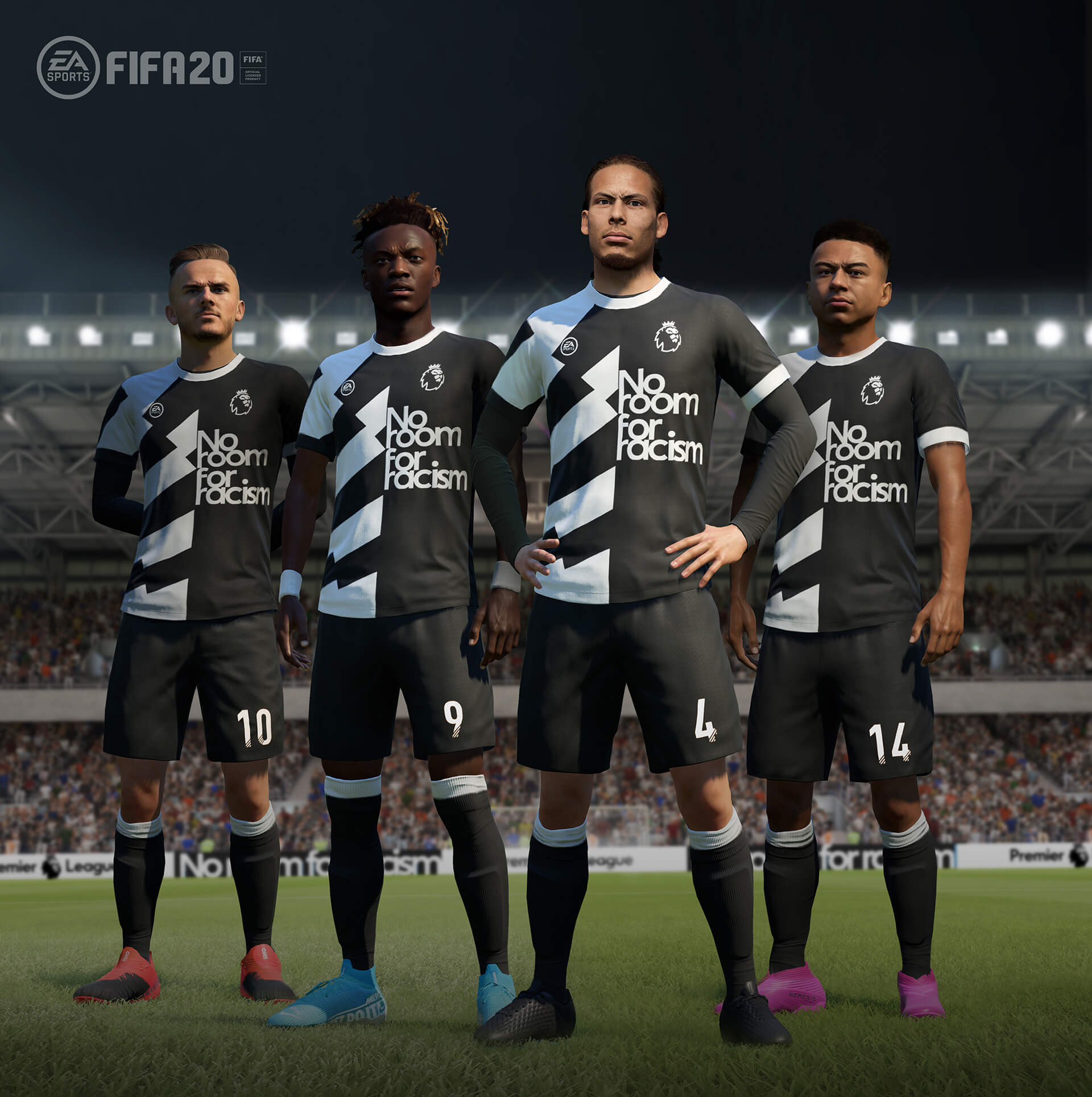 FIFA 20 s'associe avec la campagne No Room for Racism de la Premier League