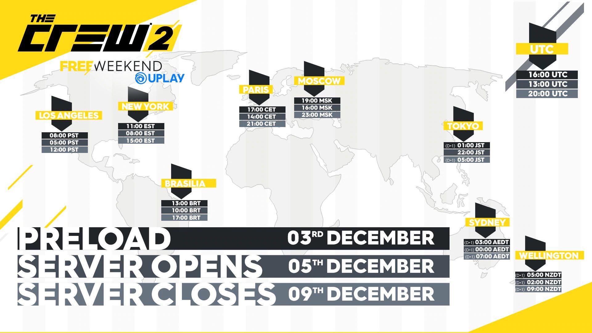 Jouez gratuitement à The Crew 2 ce week-end sur PS4, Xbox One et PC