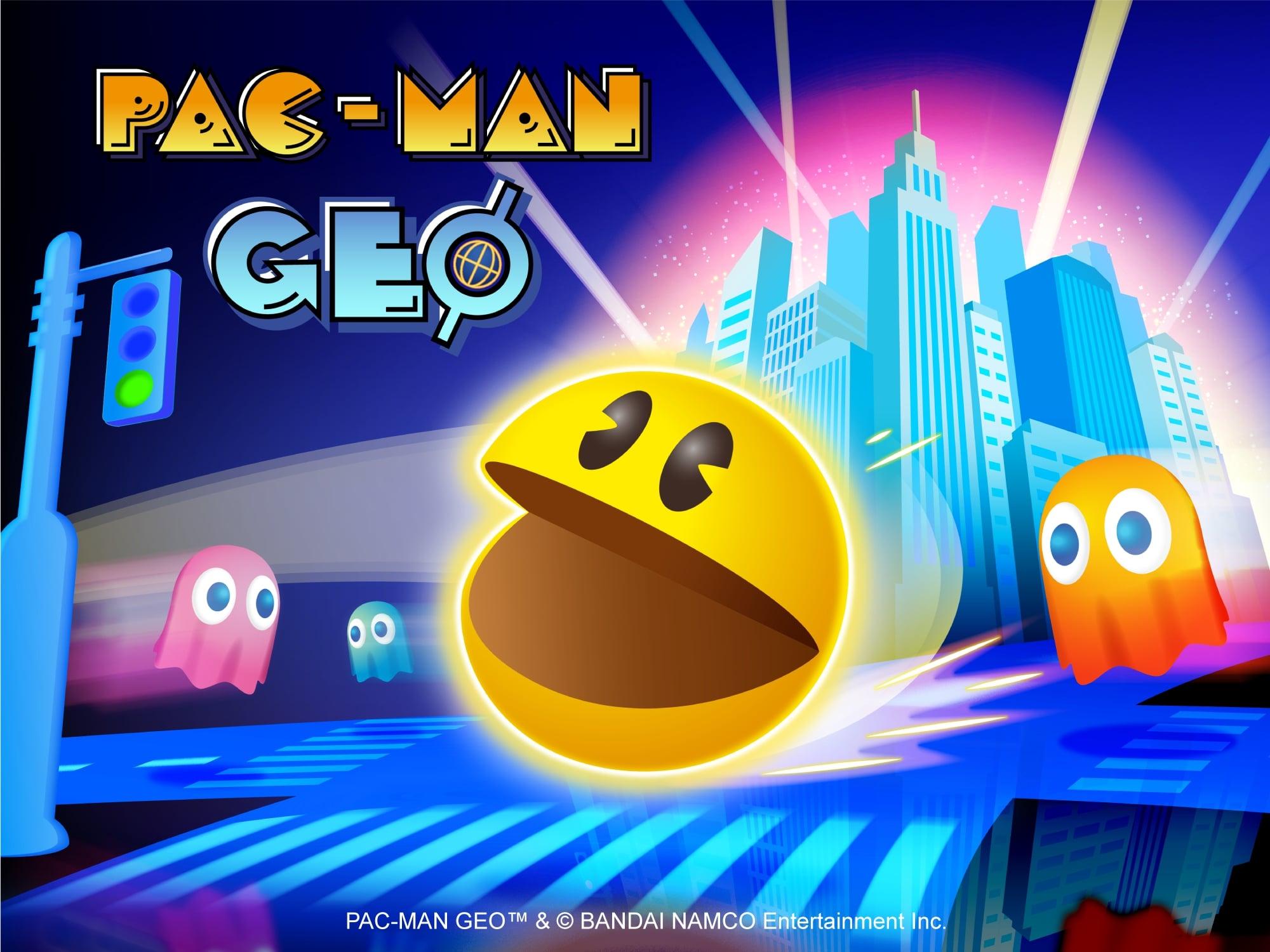 PAC-MAN descend dans les rues du monde réel